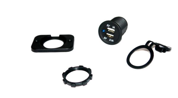 USB-Doppelbuchse 12V