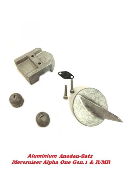 Aluminium Anodensatz Mercruiser Alpha One Gen 1 1983-1990