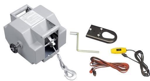 allpa Elektrische Trailerwinde 12V, Max. 50A Inklusive Fernbedienung