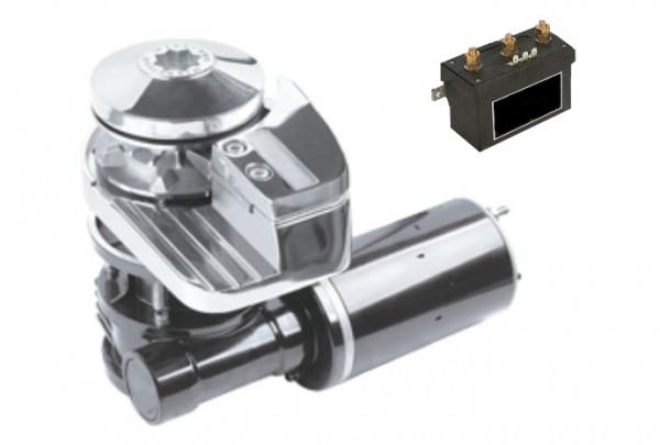 """Ankerwinde Horizontal Modell Bonaire"""" 6mm 12V 600W ohne Spillkopf"""""""