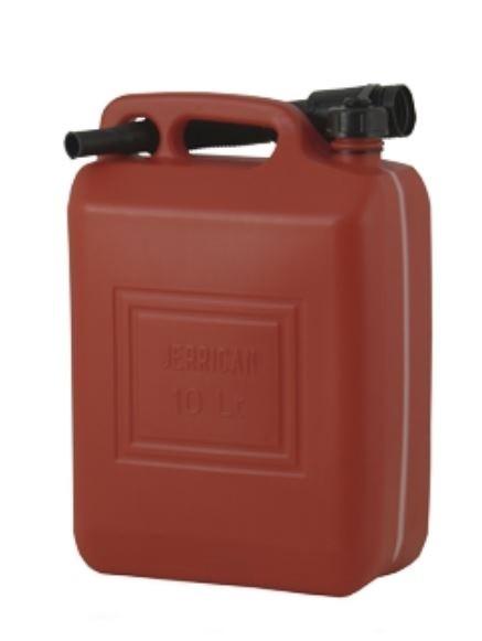 Kraftstoffkanister Kunststoff 10l mit Ausgußtülle