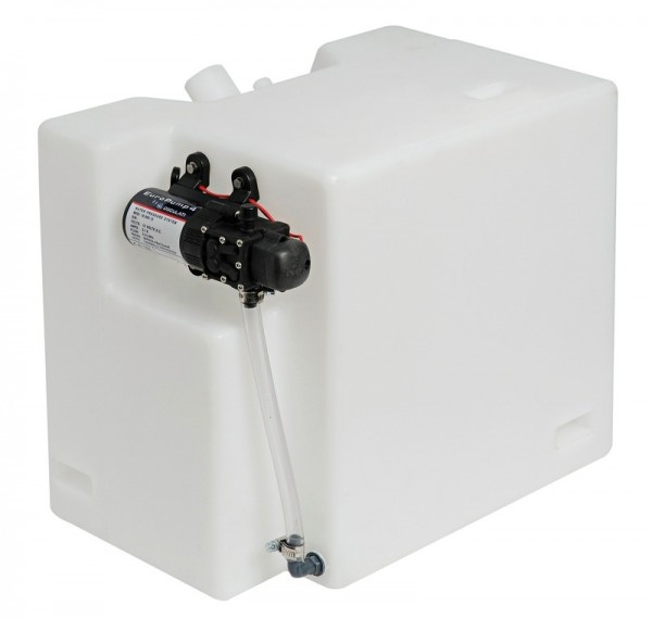 Frischwasser Tank 32l mit Autoklav Automatik Druckwasserpumpe