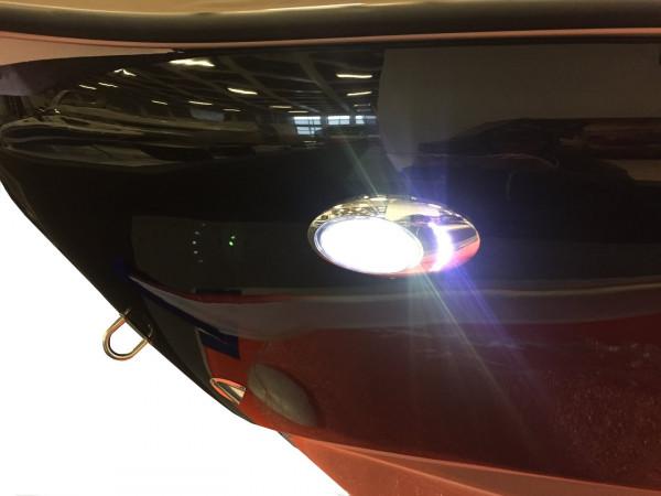allpa Aufbau NIRO 316 High Power LED Rumpflicht 12V/5W 190x114x35mm