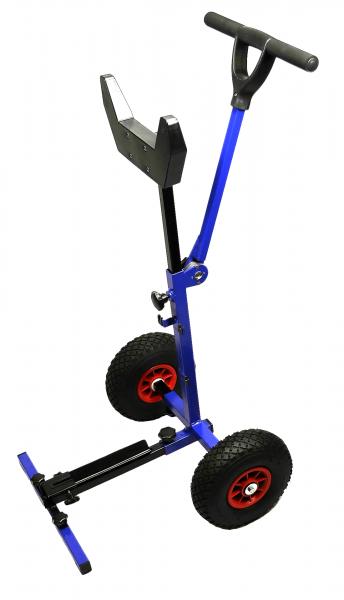 Außenbordmotor Trag-Gestell Trolley einstellbar mit Räder