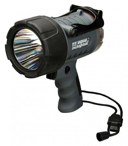 "Aqua Signal ""CARY"" Handsuchscheinwerfer LED IP67 365m Reichweite"