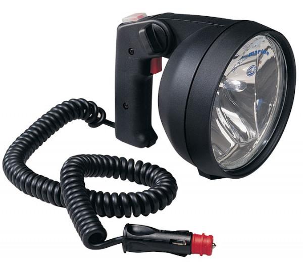 Hella Twin-Beam Handsuchscheinwerfer, Halogen, 12V/55W & 100W (2 Reflektoren), Gummi Gehäuse, IP X6K
