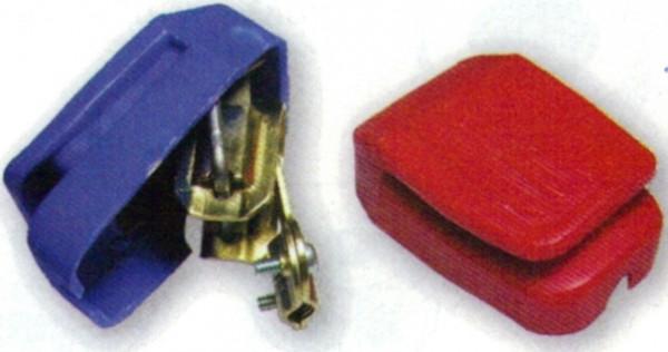 allpa Batterieklemmen, 65x45x24mm, mit Kunststoff-Kappe (Preis pro Set)