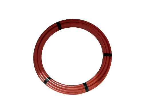 SeaTech Quick-Connect Warmwasserleitung (Ø15mm), rot, Rolle 50'' (15,25m)