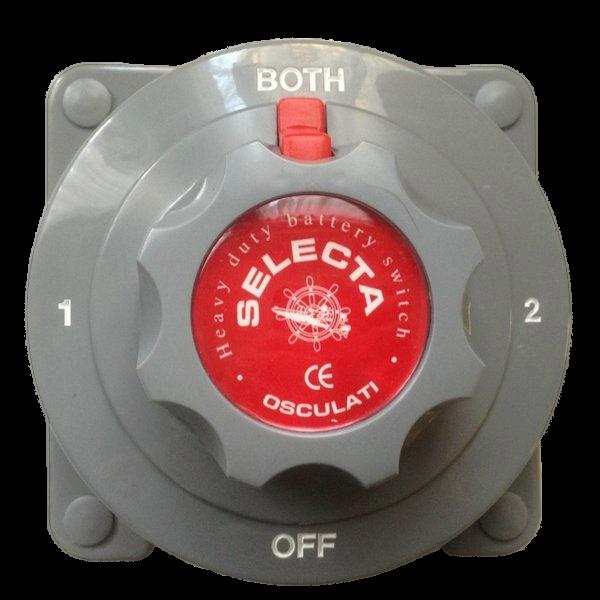 Hauptschalter-Umwandler f. Selecta Batterien