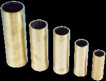 Neopren Welle-Lagerbuchse mit Messing Gehäuse für Welle von Ø22mm bis Ø60mm