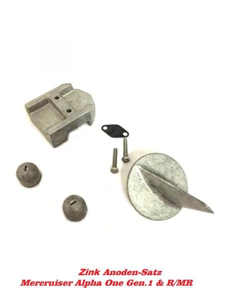 Zinkanode Kit Mercruiser Alpha One Gen 1 1983-1990