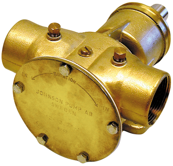 SPX Johnson Pump Bronze Impellerpumpe F8B-8 279l/min mit Fußmontage