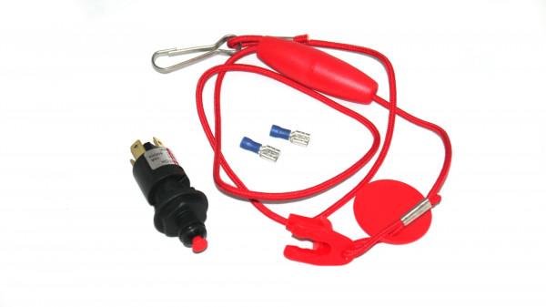 Quick-Stop-Schalter m. Sicherheitsschlüssel