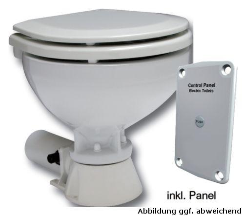 Elektrische Bootstoilette Komfort Becken inkl. Bedienungspaneel