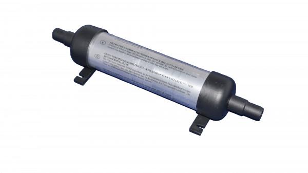 Carbon Fäkalienfilter Anschlüsse Ø16mm / Ø19mm