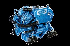 Solé Schiffsdiesel Mini 33 mit Technodrive Wendegetriebe TMC60P, Untersetzung 2.00:1