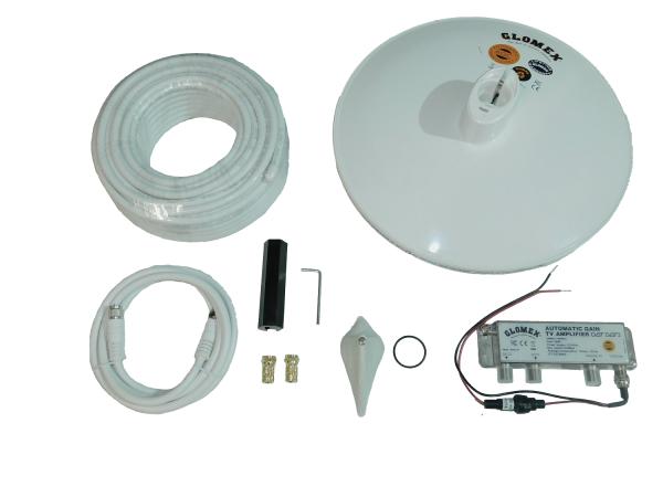 Glomex Talitha Outdoor Digital DVB-T2 HD Antenne