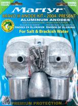 Magnesium Anodensatz Mercruiser Bravo 3 ab 2004