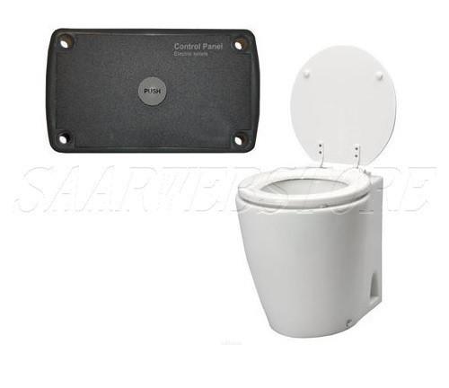 """Elektrisch Toilette Modell """"Laguna"""" 12V / 19A inkl. Bedienungspaneel"""