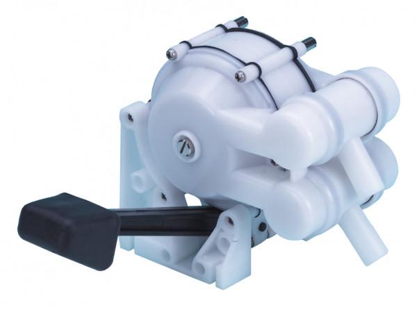 Fußpumpe mechanisch für Spülbecken doppelte Wirkungsweise 12l/min