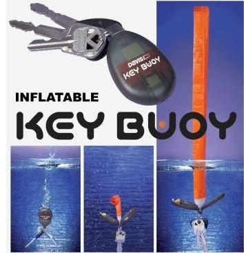 DAVIS Key Buoy Schwimmfähiger Schlüsselanhänger