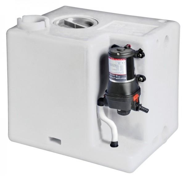 Frischwasser Tank 77l mit Autoklav Automatik Druckwasserpumpe