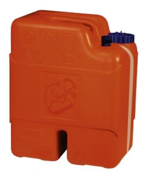 Kunststoff Aussenbordmotortank Kraftstoffkanister 22l, mit Aussenseitliche Inhaltsanzeige
