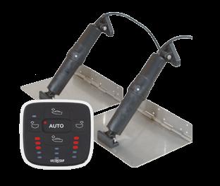 Trim Tab System Satz mit Automatic Leveling Control -