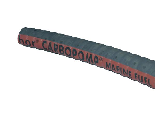 Kraftstoffschlauch, 38x51mm, Öl- & Kraftstoffbeständig mit Stahlspirale (ISO 7840 - CE)