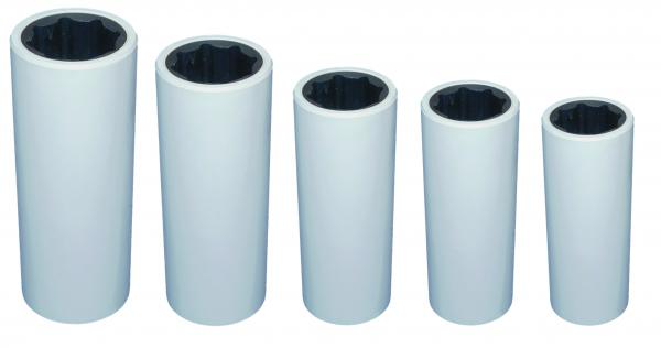 Neopren Welle-Lagerbuchse mit Kunststoff Gehäuse für Welle 25mm bis 60mm Ø
