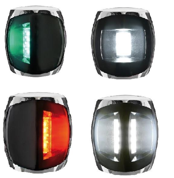 Navigationslampe Sphera III Inox