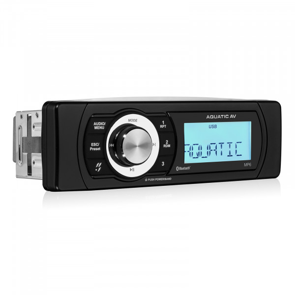 Aquatic AV MP6 Waterproof IP65 Tuner mit Bluetooth & DAB+ Ready