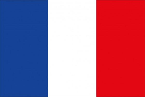 allpa Französische Flagge 30x45cm