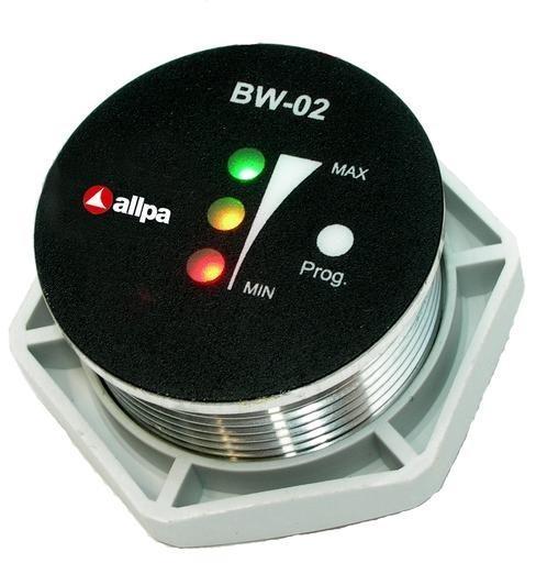 """allpa Batterie Kontrollmonitor Modell """"BW-02"""", 7-32V, Ø35mm"""