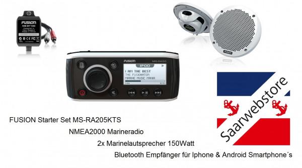 MS-RA205KTS Radio + MS-EL602 Lautsprecher + MS-BT200 Paket