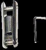 allpa NIRO Ankerketteverbinder, (festes Modell, bis 850kg)