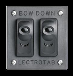 Basis Bedienpanel (Doppelkippschalter) für Trimmklappen